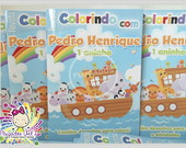 Revista Para Colorir Arca de No