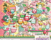 Digital Kit de Scrap Sweet Life