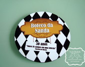 Bolacha De Chopp Personalizada