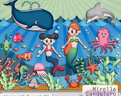 Digital Kit de Scrap Mermaid's Secrets