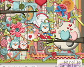 Digital Kit de Scrap Owlays Loving You