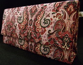 Bolsa Box Paisley rosa