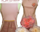 Kit Blusa e Flor La Tule