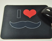mouse pad moustache