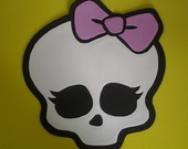 Placa De Eva Da Monster High