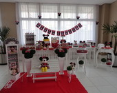 Festa Clean Minnie Vermelha 2