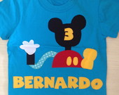 CAMISETA OU BODY CASA DO MICKEY