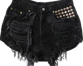 Short destriudo black FRETE GRTIS