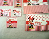 Kit Lavabo Infantil: Minnie 2