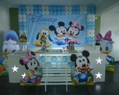 Decora��o de Festa Clean Disney Baby