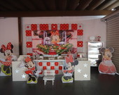 Decora��o Festa Clean Minnie