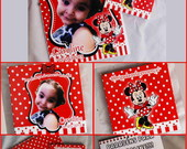 Kit Para Colorir - Minnie