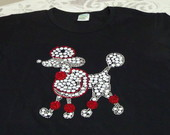 Camiseta &quot;Poodle Charmosa&quot;