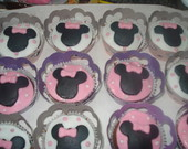 Cup Cakes Decorados Minnie
