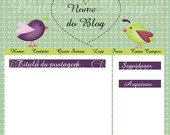 Template Claudia para blog