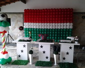 Decora��o Clean Fluminense