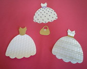Kit de Vestidos de Scrapbook Princesa