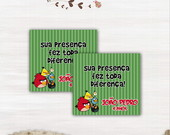Tag Para Lembrancinhas Angry Birds