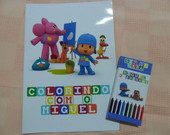 Livrinho De Pintura Pocoyo 1