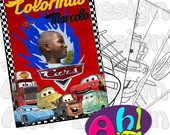 Revista de Colorir - Carros