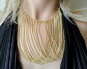 Maxi Colar Dourado