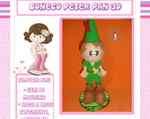Apostila Boneco Peter Pan 3D