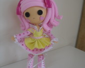 Bonecas Lalaloopsy em EVA