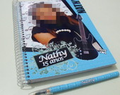 Caderno De Assinaturas - Rock