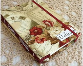 Caderno Concertina Roses - Pronta Entreg