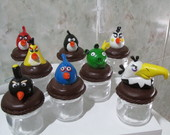 Mini potinho dos Angry Birds