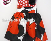 Vestido Minnie Princess
