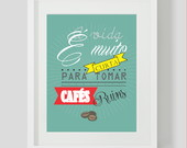 Pster Decor Frases