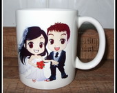 Canecas personalizadas para casamento