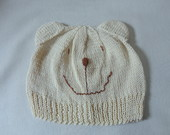 GORRO AMIGO URSO POLAR 18 MESES A 4 ANOS