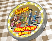 R�tulo Personalizado Turma do Chaves