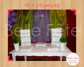 Aluguel de MDF - KIT 10 pe�as