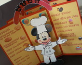 MENU DO MICKEY