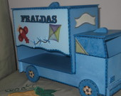 porta fraldas caminho