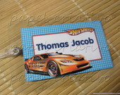 Kit 3 Bagtags - hot wheels