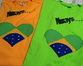 Camiseta &quot;Always Brasil&quot;