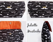 Clutch Juliette - Mustache - bigodinho