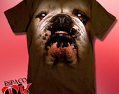Camiseta Bulldog Face