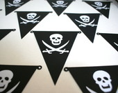 Bandeirinhas para Festa Pirata