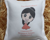 Mini Almofada Personalizada
