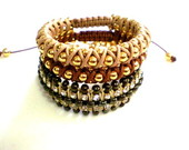 MIX PULSEIRA MARRON E BEGE (PL649)