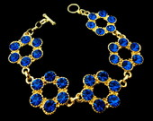 Pulseira Azul Safira
