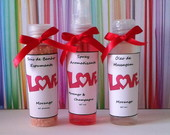 Trio Love 1 - Spray,Sais e �leo Massagem