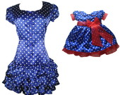 Vestido Me Filha Galinha Pintadinha1035