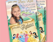 Convite Ingresso As Princesas