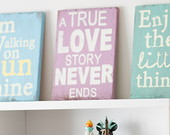 Quadro decorativo A True Love